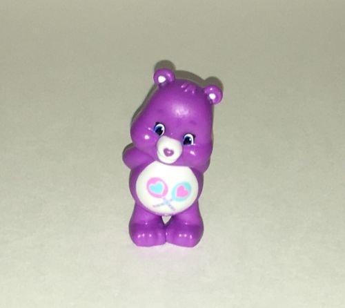 Care Bears Share Bear Purple Hearts Collectible Miniature 2