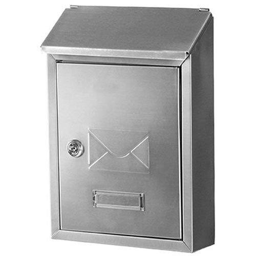 Gibraltar HWVK0SS01 Mailboxes Hudson Vertical Locking Wall Mount Mailbox