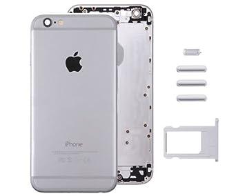 Carcasa Trasera iPhone 6 Plus Plata: Amazon.es: Electrónica