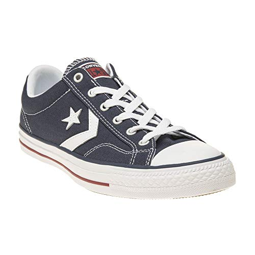 Converse Star Player Ox Navy White Mens Trainers Size 8 UK