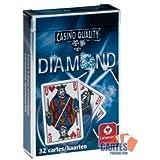 Juego de 32 cartas : Belote Diamond [importado de Francia]