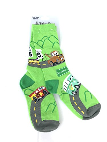 Disney Parks Cars Boys Girls Youth Socks (large)
