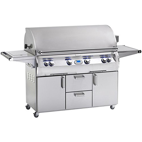 Fire Magic Echelon Diamond E1060s 48-inch Propane Gas Grill With Single Side Burner - E1060s-4e1p-62