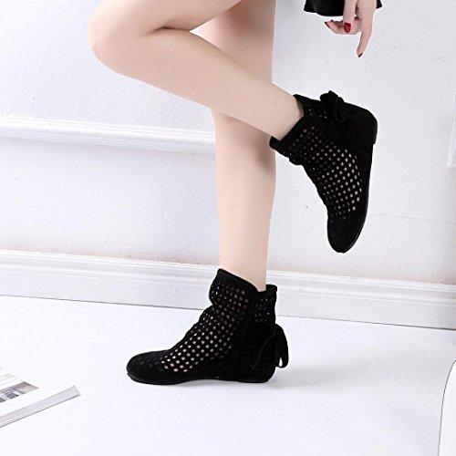 a en Talon Soldes Boots Comfort Hiver Ankle Daim Bottes Chaussures Femme Suedine Chic Automne Casual Overdose f4qczwS