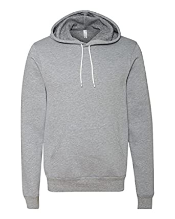 Bella   Canvas Unisex Poly-Cotton Fleece Pullover Hoodie ...