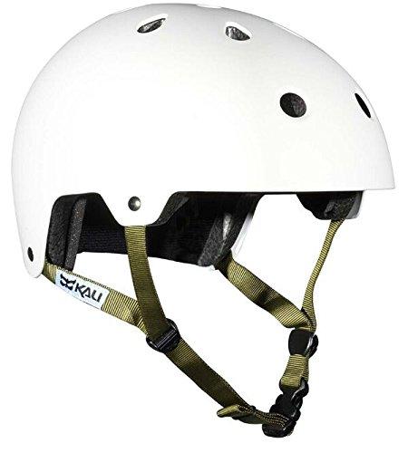 Kali Protectives Maha Helmet (Solid White, Small)