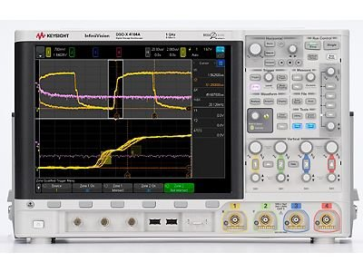Keysight Technologies DSOX4104A Oscilloscope: 1 GHz, 4 Analog (1 Ghz Channel)