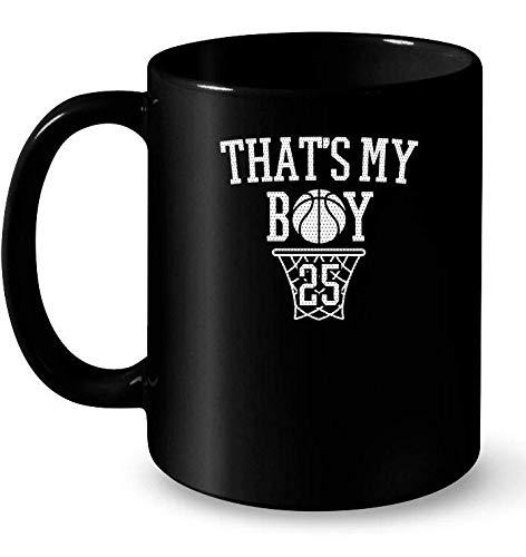 Thats My Boy 25 Ceramic Mug For Basketball Moms Mom Basketball