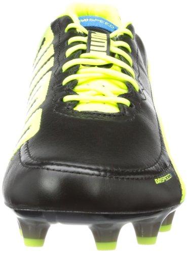Schwarz 2 fluo brilliant black Puma L Evospeed Yellow Fg 01 Chaussures 1 De Homme Football Noir Blue xwT7v