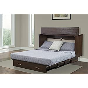 Arason Enterprises Creden-ZzZ Cabinet Bed in Traditional Pekoe –