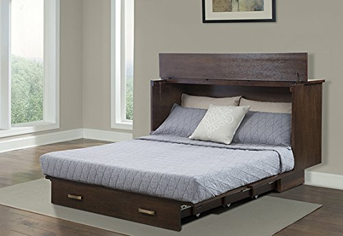 SDS Pekoe Queen Cabinet Bed
