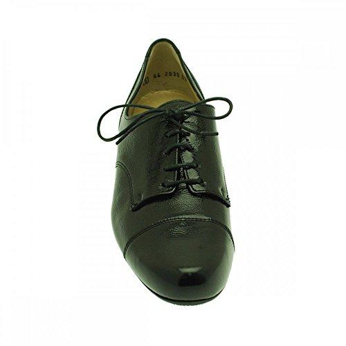 black Scarpe Peter Kaiser patent lacci con wxq5w7rY1I