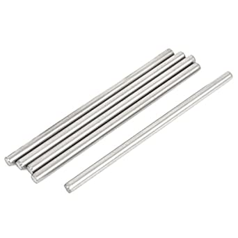 Amazon.com: Uxcell 5 Pcs 3 mm de diámetro 6 cm de largo de ...