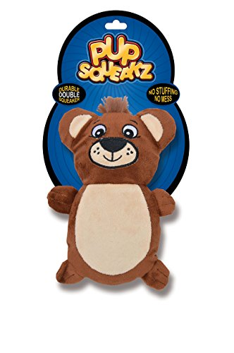 (Pup Squeakz Dog Toy, Bear)
