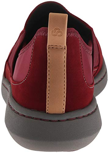 Move Us Burgundy W Synthetic 085 Jump Women's Step Clarks Sneaker OPTxEBH