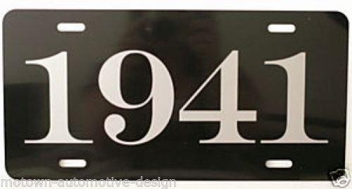 license plate frame chevy 1941 - 3
