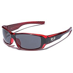 Locs Two Tone Original Gangsta Shades Fashion Statement Translucent Frame Sunglasses