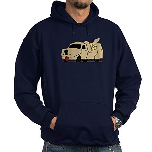 CafePress Mutt Cutts Van Dumb and Dumber Hoodie Pullover Hoodie, Classic & Comfortable Hooded Sweatshirt Navy -