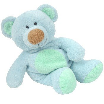 Amazon.com  TY Pluffies - BLUEBEARY the Bear  Toy   Toys   Games ab6d5174592