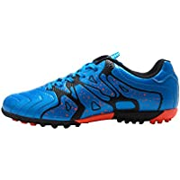 Tiebao Kids' Indoor Soccer Football Shoes - Patent Synthetic Leather - Turf, Indoor