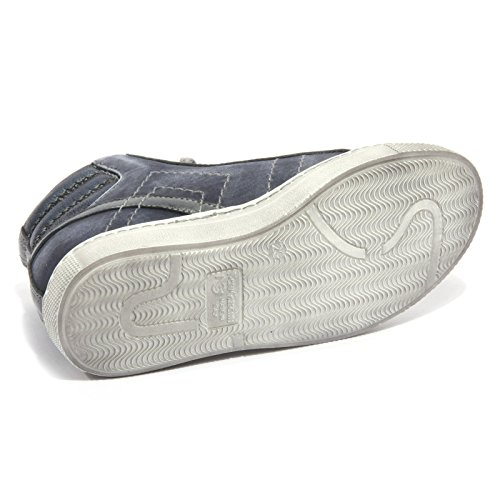 Blu Kid Brandon Nero BLU Sneaker Bimbo Shoe Giardini Vintage B1946 qnzwCB
