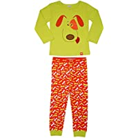 Pijama Longo Tipguinhos Menino Toddler VERDE 1-2ANOS
