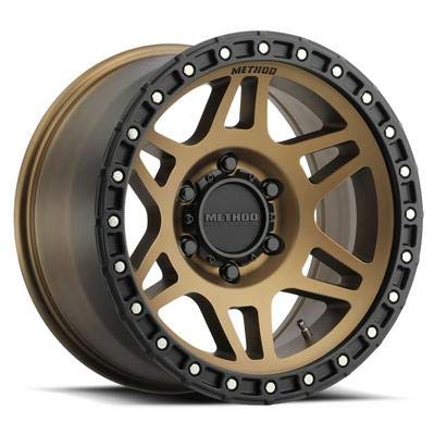 Wheels Painted Black - Method Race Wheels MR312 Method Bronze/Black Street Loc Wheel with Painted (17 x 9. inches /6 x 5 inches, -12 mm Offset)