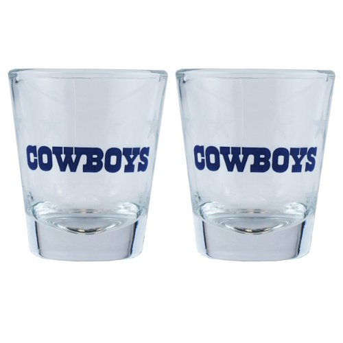 (Boelter Brands NFL Dallas Cowboys 168774 Shot Glass, Team Color, One)