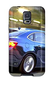 Ultra Slim Fit Hard MichelleA Case Cover Specially Made For Galaxy S5- Buick Verano On The Road