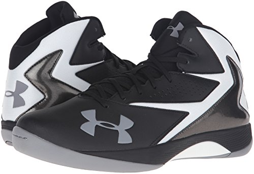 f47260b2d08 Under Armour 1269281-002 Men s UA Lockdown Basketball Shoes 10.5 Black  190078237696 Price History