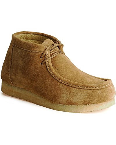 Tan Suede Desert Sticker With Gum Sole Mens Casual Footwea (14) 09-020-0606-0320SD