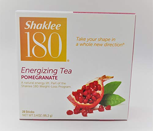 Shaklee 180 Energizing Tea - Pomegranate Flavor - 28 Servings (Shaklee Weight Loss)