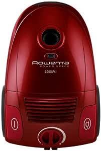 Rowenta - Aspirador Conbolsa Ro2123 Power Space, 2000W, Filtro Hepa, Boquilla Delta, Succion 27 KpaS, Bolsa 3L, Parquet. Rojo.: Amazon.es: Hogar