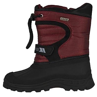TrespassKukun - Stivali da Neve Unisex - Adulto  rosso 32 EU