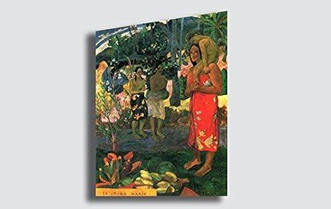 Quadri Moderni Per Ufficio : Quadro paul gauguin la orana maria riproduzione stampa su tela