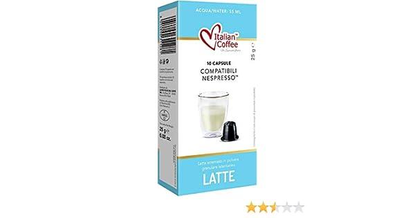 Capsulas Compatibles Nespresso Leche en Polvo Soluble 60 unidades ...