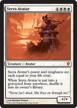 - Magic: the Gathering - Serra Avatar (21/356) - Commander 2013