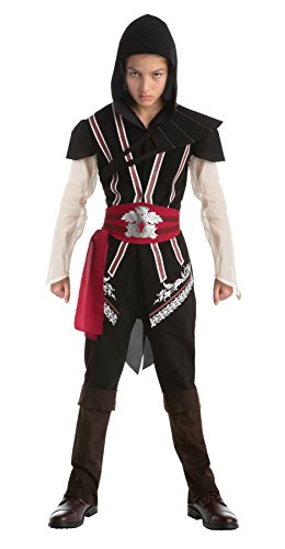 UHC Boy's Assassins Creed Ezio Outfit Movie Theme Halloween Teen Costume, Teen (14-16) 2018