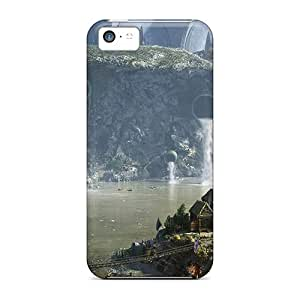 AngelaMs Snap On Hard Case Cover Village Protector For Iphone 5c