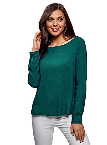 Camicetta Ultra Verde Donna Basic In 6e00n Viscosa Oodji xzRESPwzUq