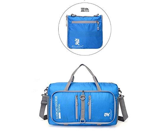 Sport Bag Travel Sport Fitness Gym Baghandbag Duffle Bag Blue