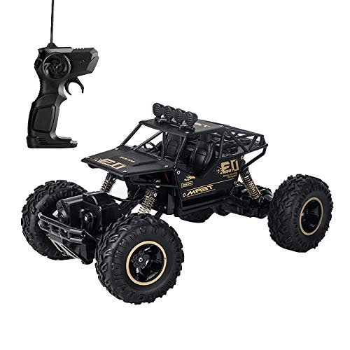 1:16 Rechargeable RC Monster Truck Electric Radio Remote/Radio Control Car Off Road Vehicle 2.4Ghzb High Speed Racing Rock ()