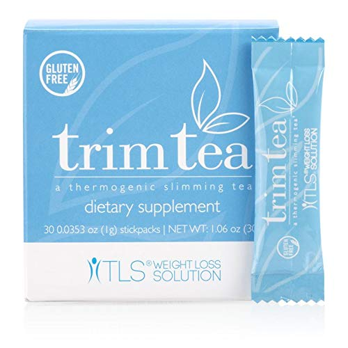 TLS Trim Tea, Thermogenic Slimming Tea, Helps Curb Appetite, Promotes Healthy Weight Management, Help Manage Hunger…