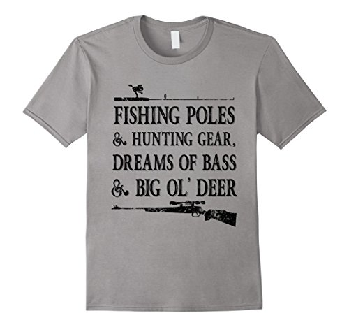 Fishing Hunting Shirt Funny Fathers