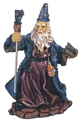 StealStreet SS-G-71154 Wizard Magician Collectible Fantasy Decoration Figurine Statue Model