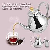 Fenrs Percolator Coffee Pot Stainless Steel Teapot