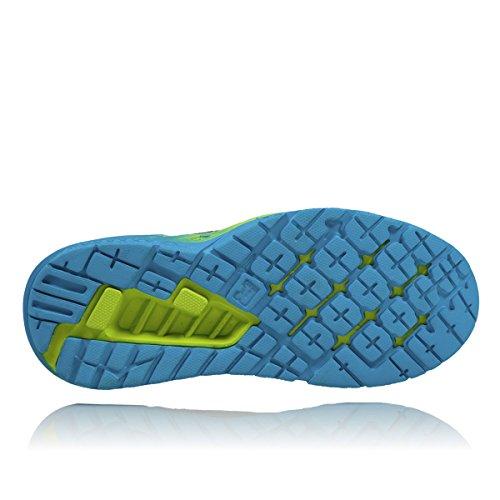 Hoka One One Hommes Clayton 2 Chaussure De Course Vert Clair / Bleu