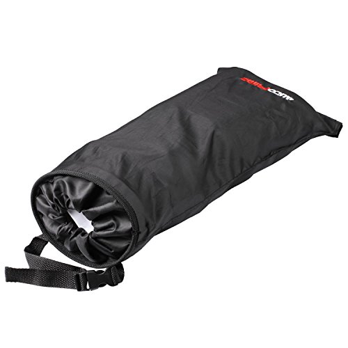 AutoPrime OverSized Trash Bag for Car and Truck Back Seat, Headrest and Shift Stick, Auto Waste Holder and Organizer (Black)
