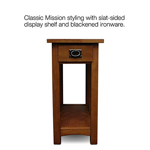 Used, Leick Furniture Mission Side Table, Medium Oak for sale  Delivered anywhere in USA