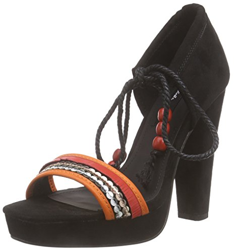 Blink Blilianl - Sandalias con Plataforma Mujer Negro - Schwarz (03 Multi black)